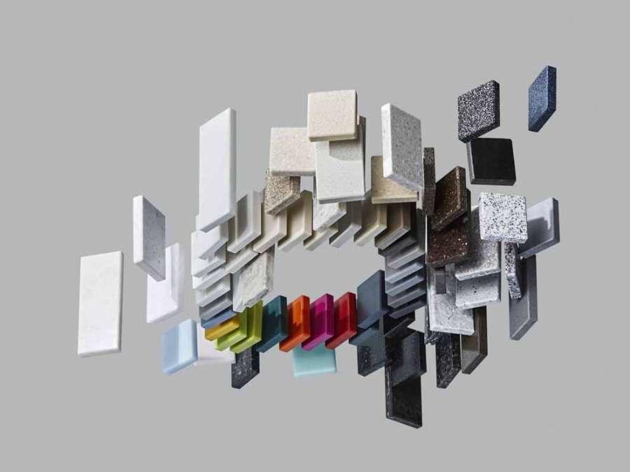 Tutti i colori di HI-MACS (ph. Petr Krejci)