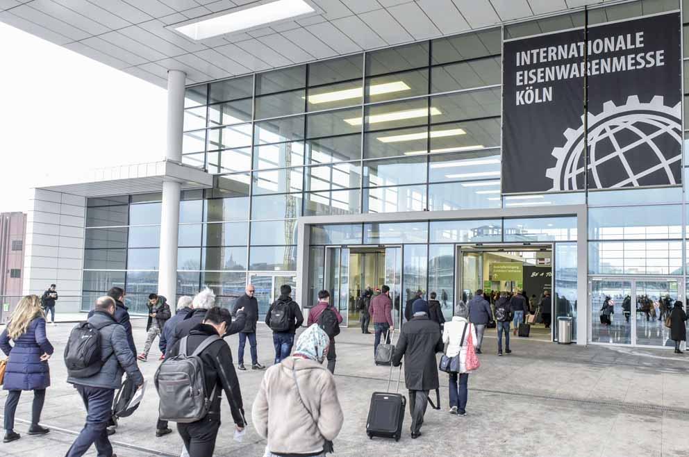 Exposición Eisenwarenmesse 2021 cancelada: se celebrará en Colonia del 6 al 9 de marzo de 2022