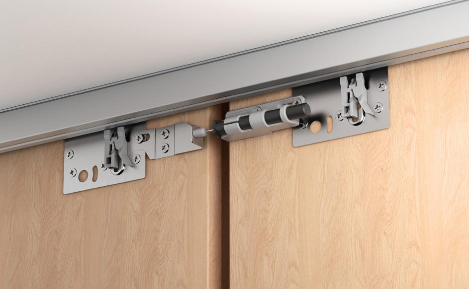 Systèmes de portes coulissantes Slido de Häfele: solutions innovantes et personnalisables
