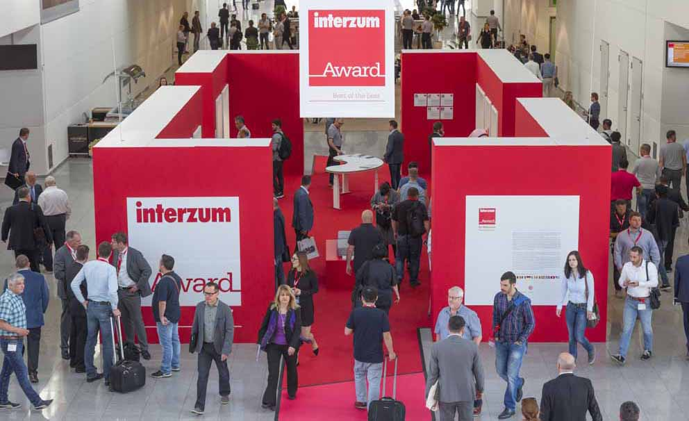Aperte le candidature all'interzum award: intelligent material & design 2019