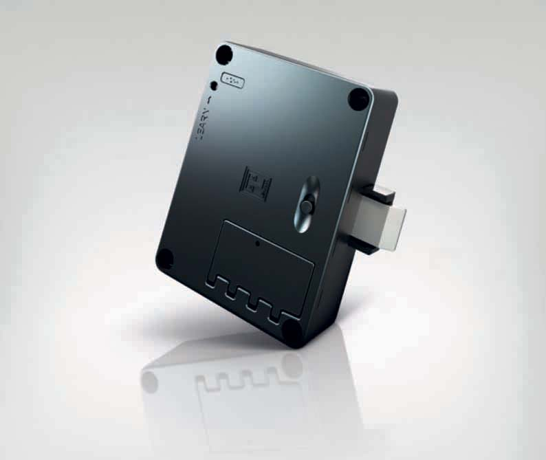 Electronic and mechanical locking systems for furniture Lehmann
