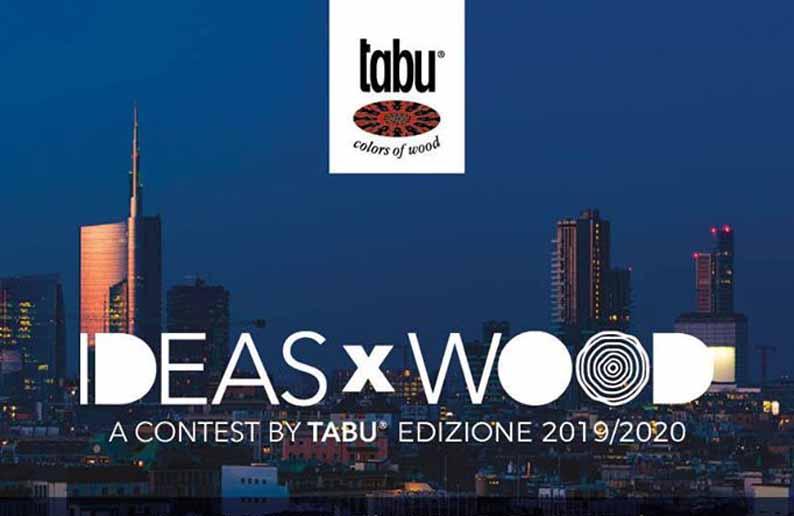 Design Contest Ideasxwood 2019/2020 promovido por Tabu para mejorar la calidad de la madera