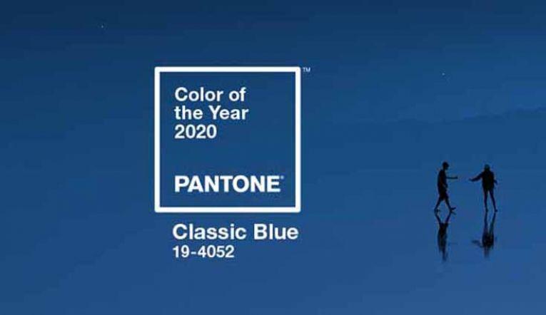 Classic Blue ha sido elegido como Color Pantone del Año 2020 10498