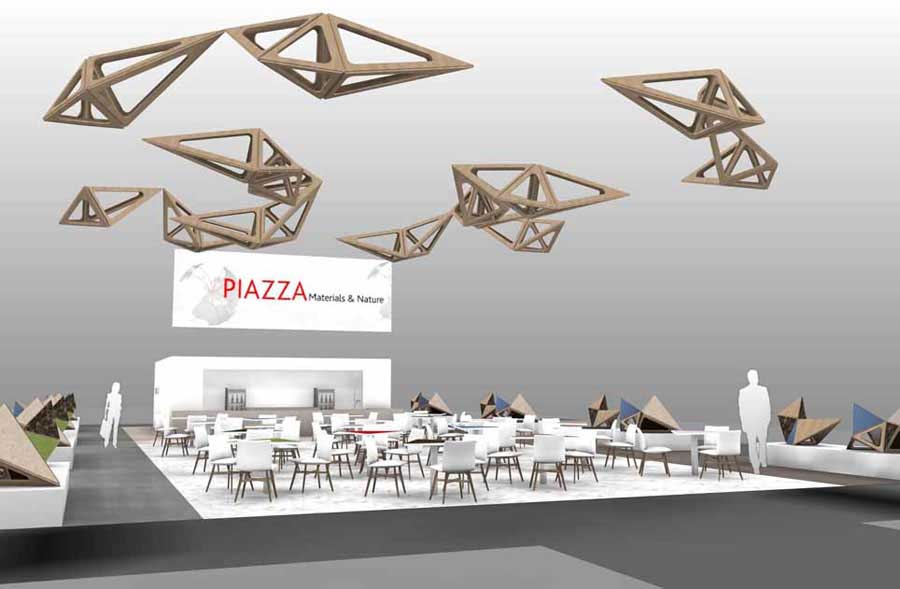 interzum 2017: plazas Materials & Nature