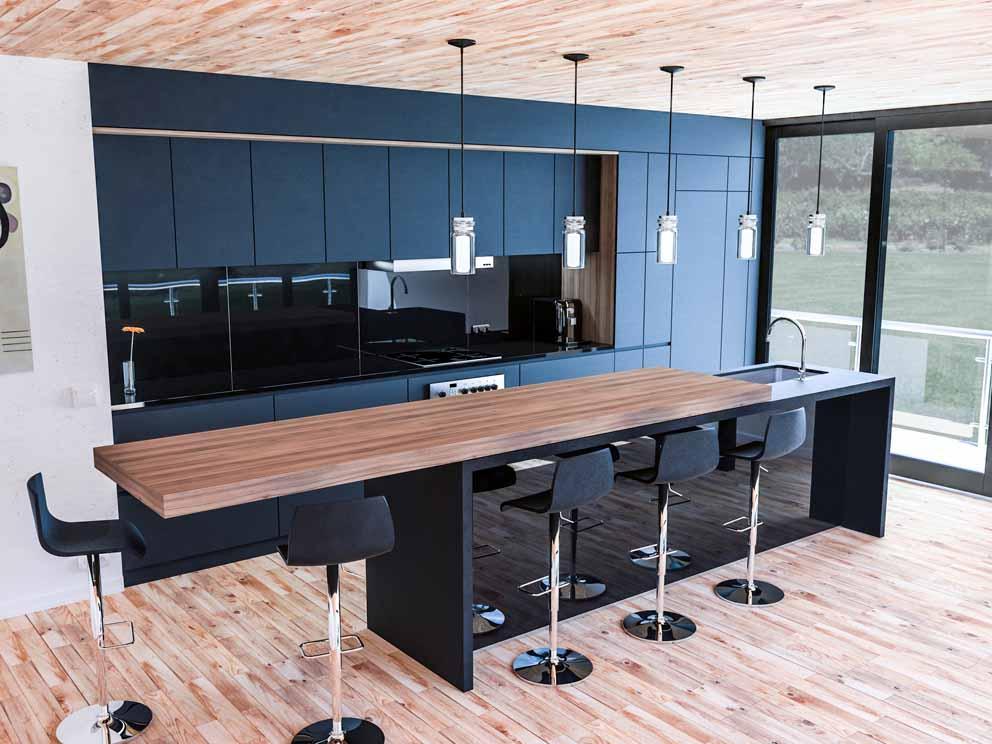 Sistemas de deslizamiento para mesas de cocina STM: síntesis de diseño y funcionalidad