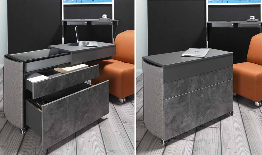 Office sector: Inspirations and solutions from Hettich for a constantly evolving office