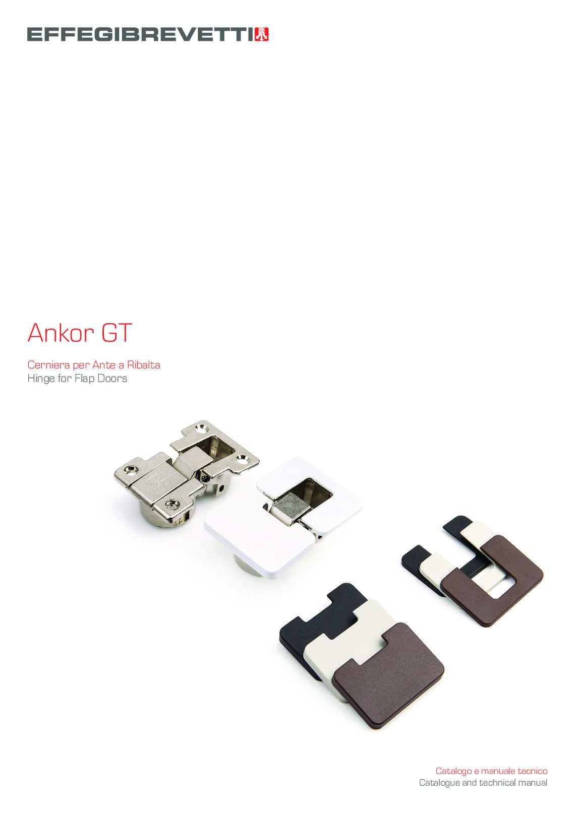 Ankor GT - Hinge for Flap Doors
