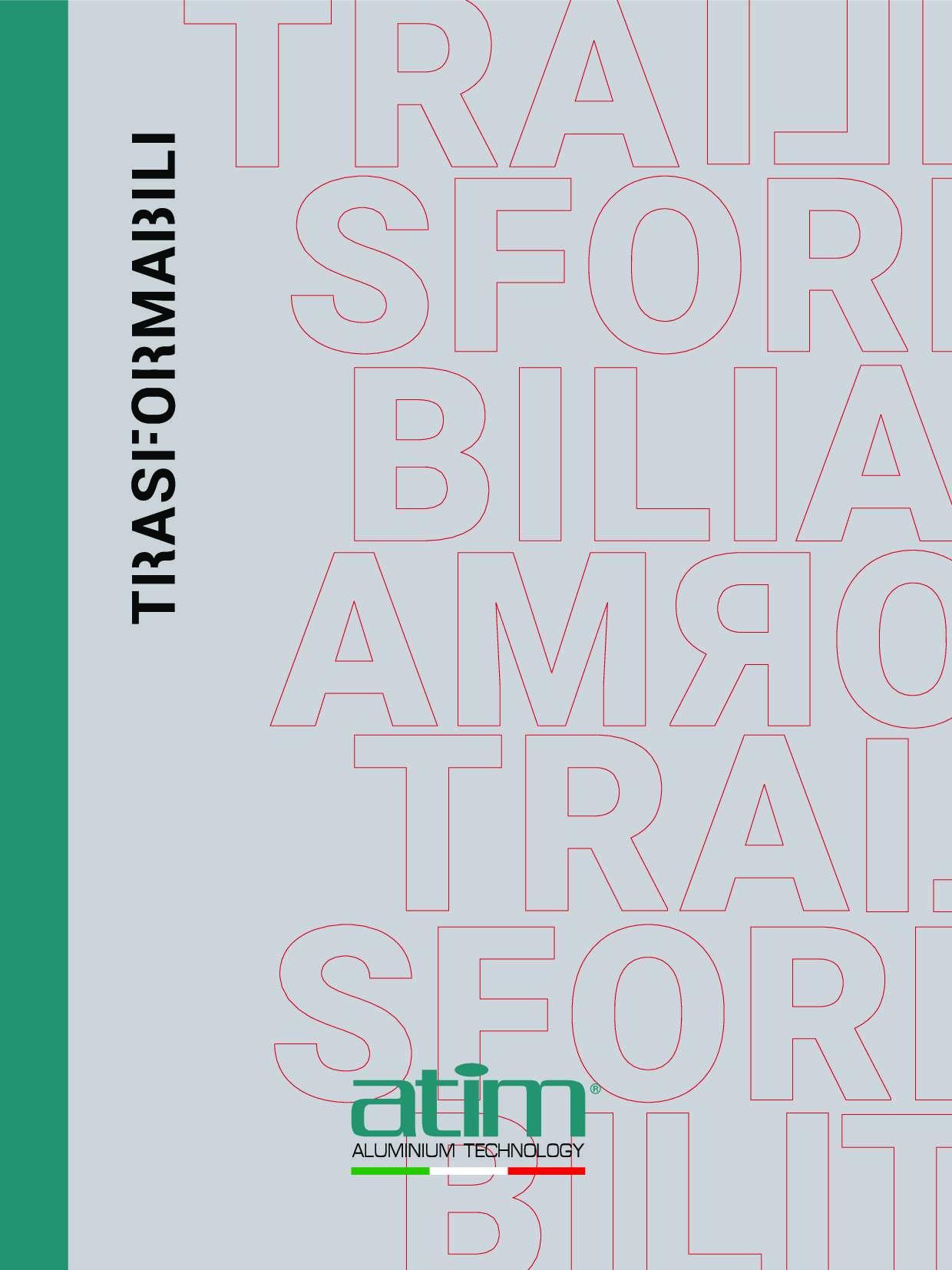 Catalogo Trasformabili 2019 di ATIM