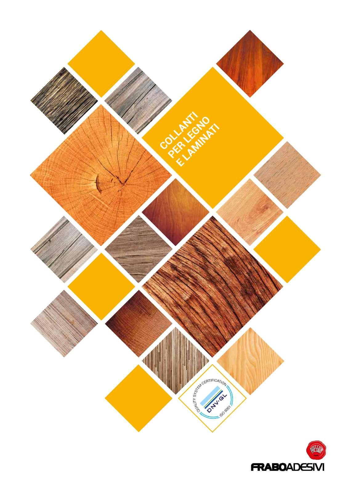 Collanti per legno e laminati by Frabo Adesivi