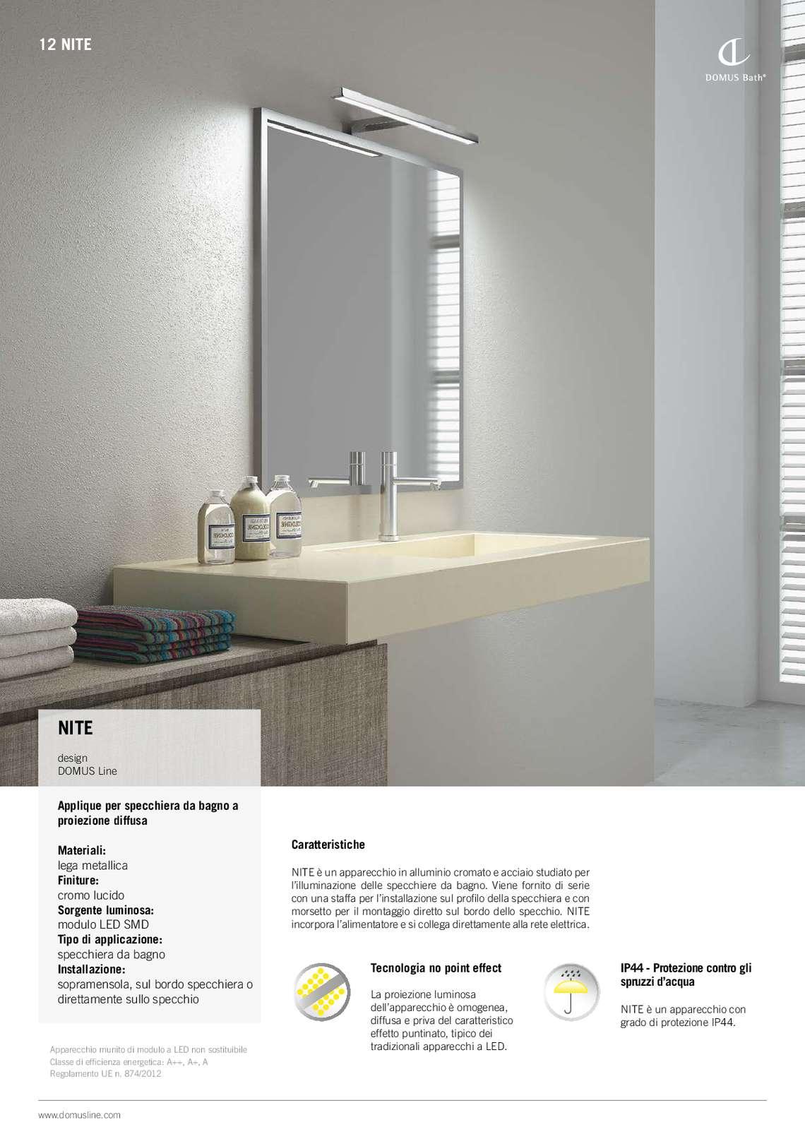 Catalogo domus line bath di domus line s r l illuminazione a led per mobili - Illuminazione a led per mobili ...