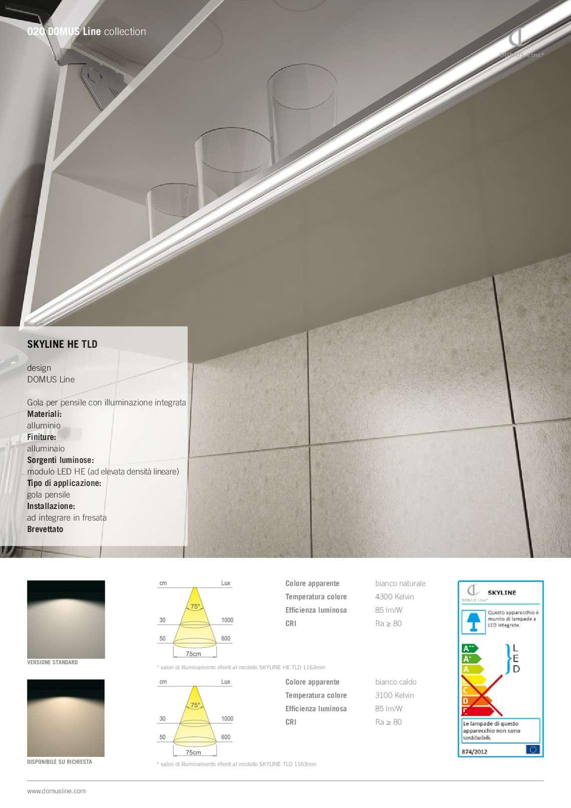 Catalogo domus line illuminazione di domus line s r l illuminazione a led per mobili - Illuminazione a led per mobili ...