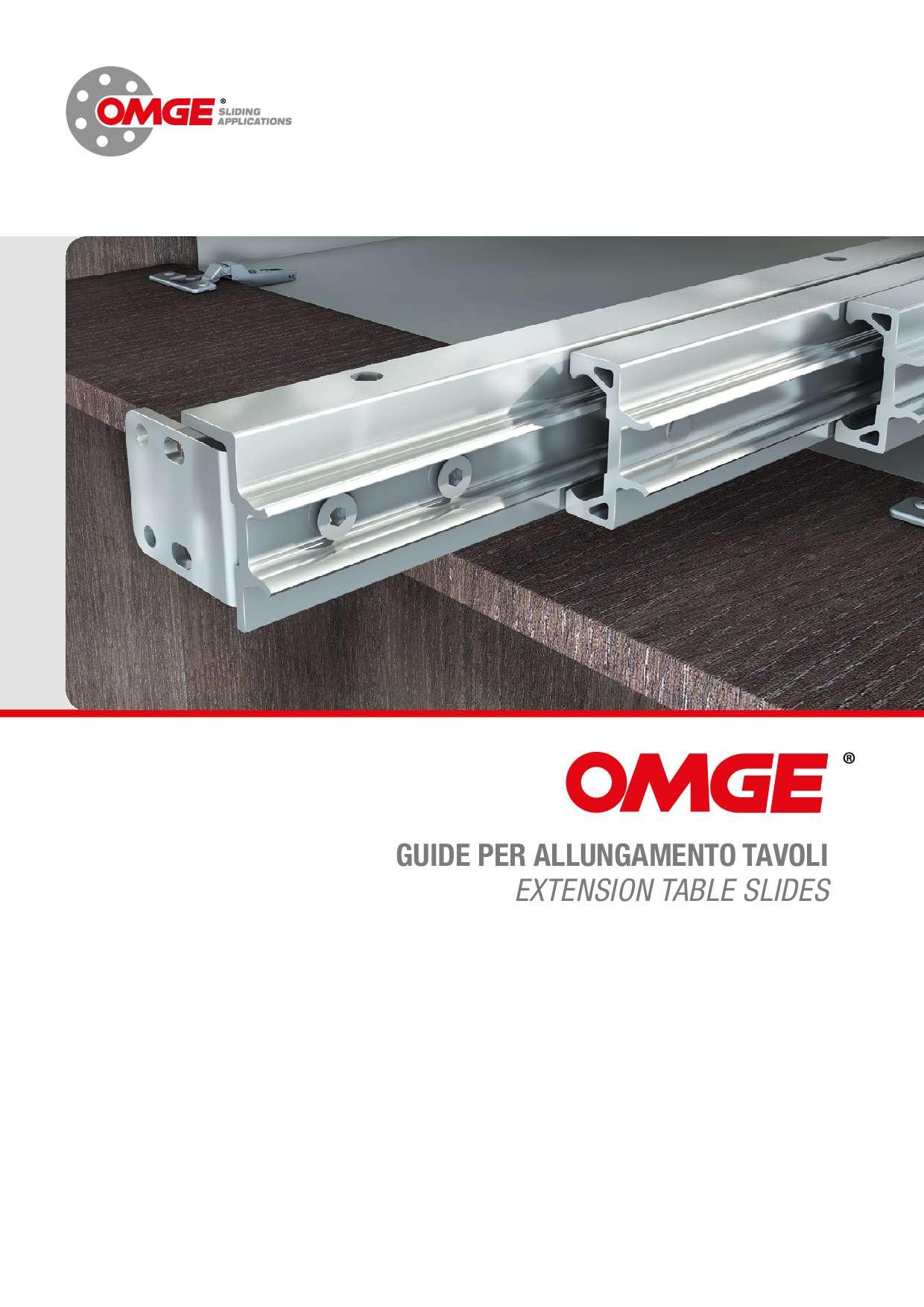 Guide per allungamento tavoli 2020 di Omge