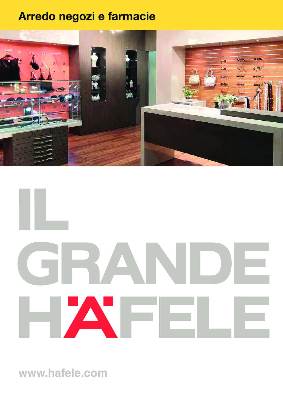 Hafele: Arredo negozi e farmacie