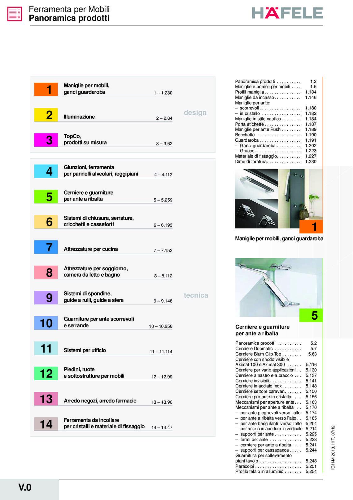 Catalogo hafele sistemi di chiusura di h fele italia for Catalogo di mobili