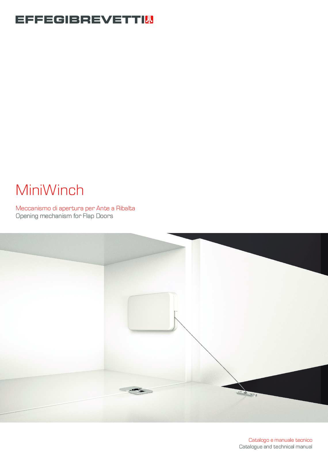 MiniWinch - Opening mechanism for Flap Doors