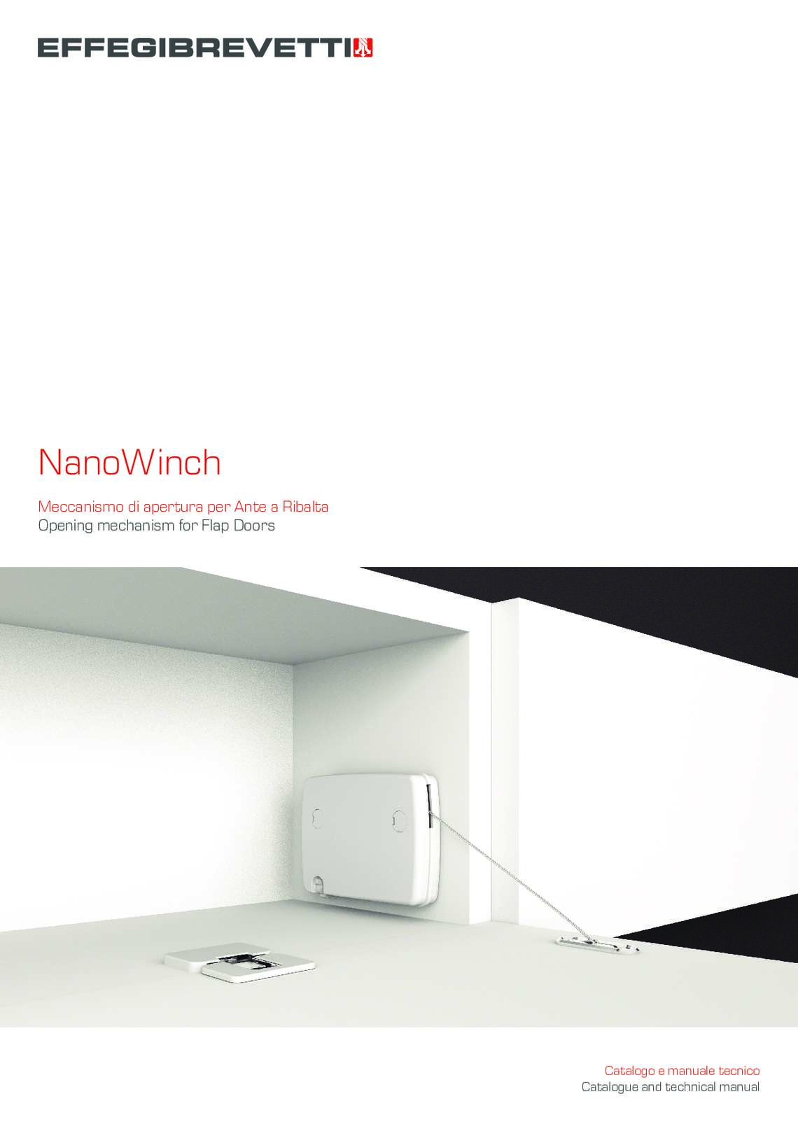 NanoWinch - Opening mechanism for Flap Doors