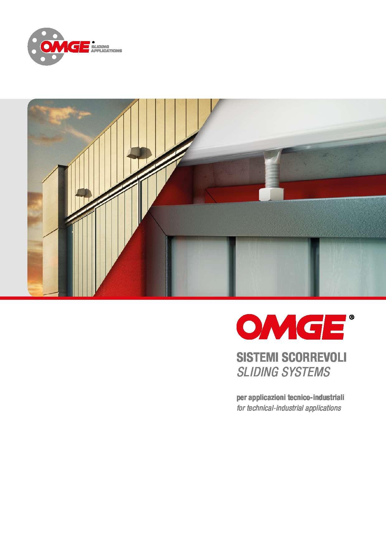 Sistemi scorrevoli tecnico industriali di OMGE