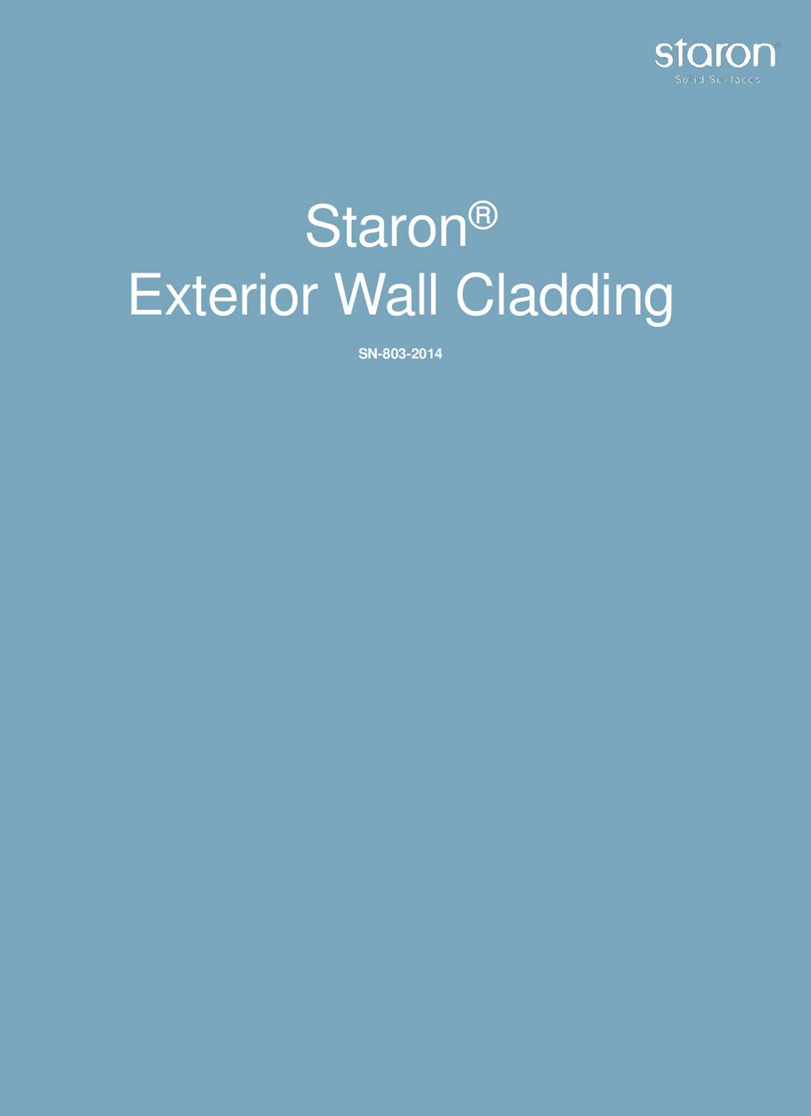 STARON pareti esterne