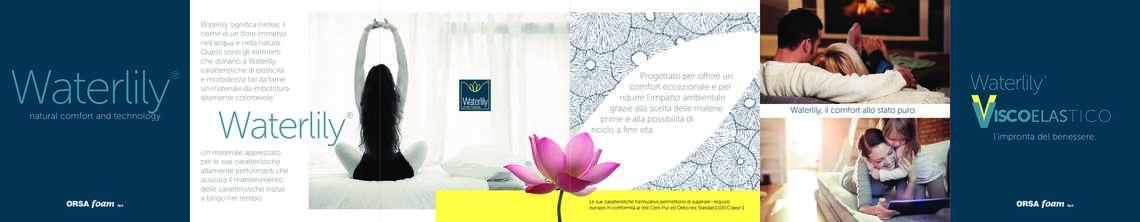 Waterlily, il comfort allo stato puro di Orsa Foam