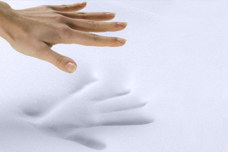 Slow Emotion un materiale per la produzione di materassi e di guanciali di alta qualità.