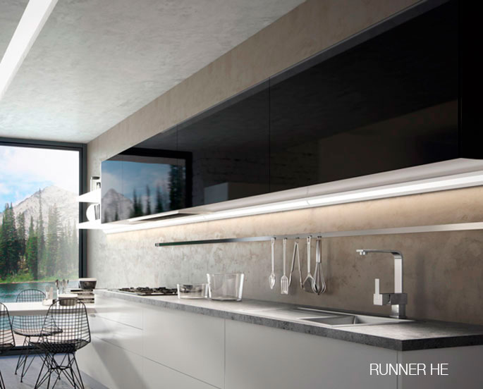 Illuminazione a led per mobili domus line prodotto da - Illuminazione a led per mobili ...