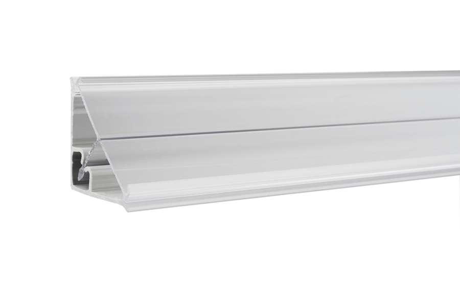 Perfil vedante de bancada triangular para inserção 35026 da Unionplast.