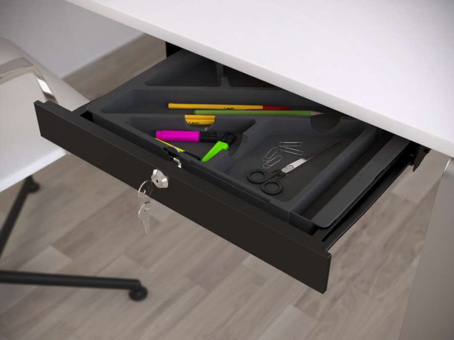 """TIRETTO"" METAL DRAWER FOR DESKS"