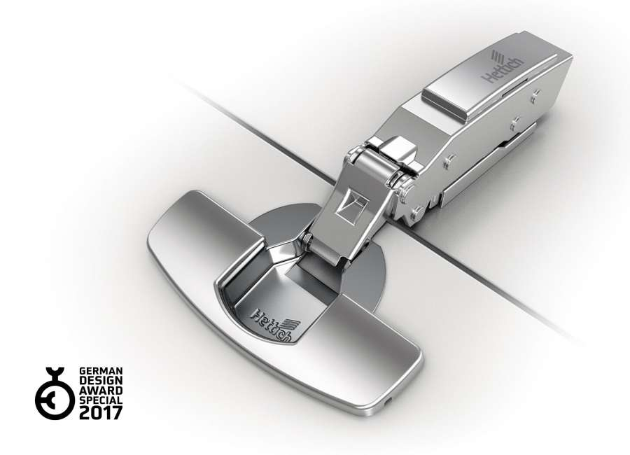 Sensys 8646i hinge for thin doors