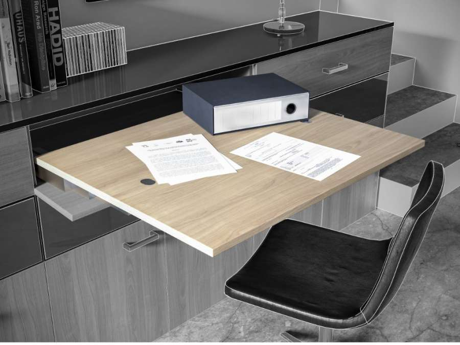 SUNRISE 40 – PULL-OUT SYSTEM FOR TABLES WITHOUT LEG